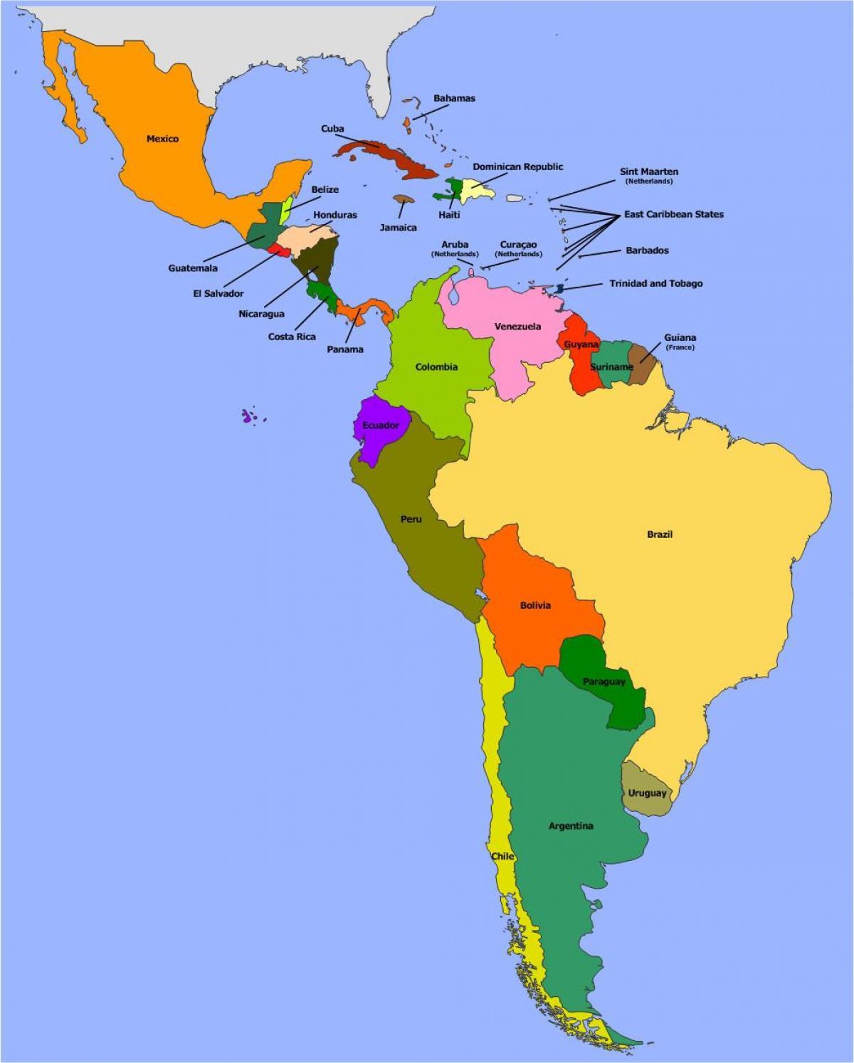 Carte Amerique Du Sud Belize.Belize Amerique Du Sud Carte Carte De Belize En Amerique